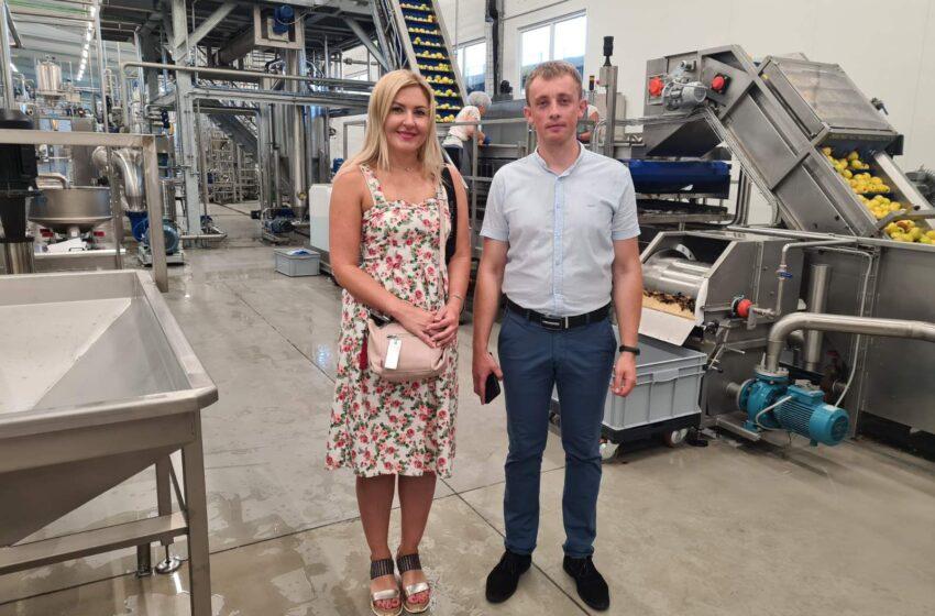 """Фермерське господарство """"ГАДЗ"""": відкриття сучасного заводу з переробки фруктів"""