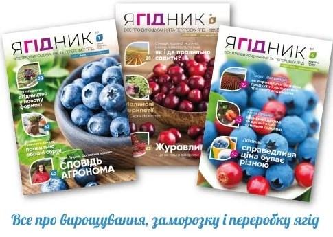 «Ягідник» №4: чим здивує читачів новий номер енциклопедії українського ягідництва?